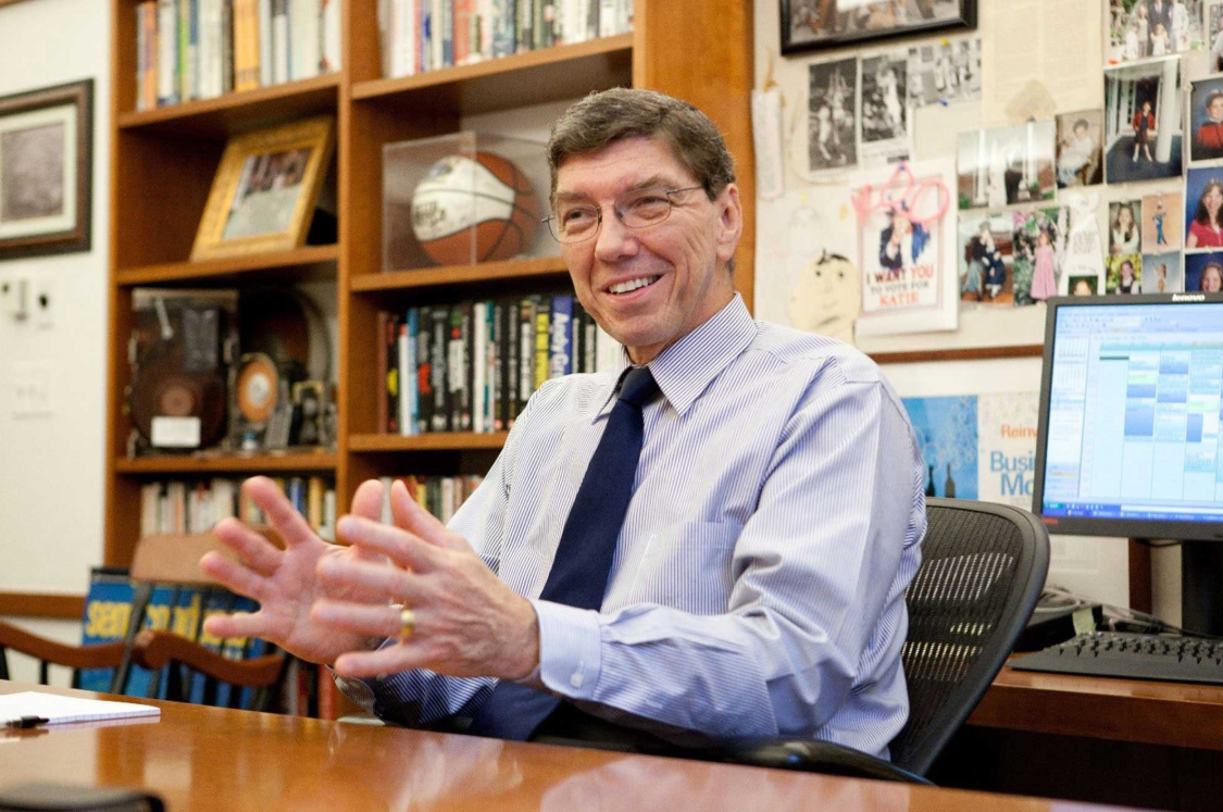 Clayton M. Christensen, Kim B. Clark Professor of Business Administration at Harvard University's Business School